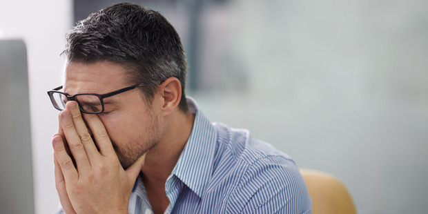 Common symptoms of stress-related burnout include emotional exhaustion, reduced performance, withdrawal from relationships and the development of a negative outlook. Photo / Getty Images