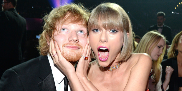 Ed Sheeran has come clean about getting with Taylor Swift's friends. Photo / Getty