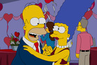 Homer and Marge from The Simpsons. Photo / Getty