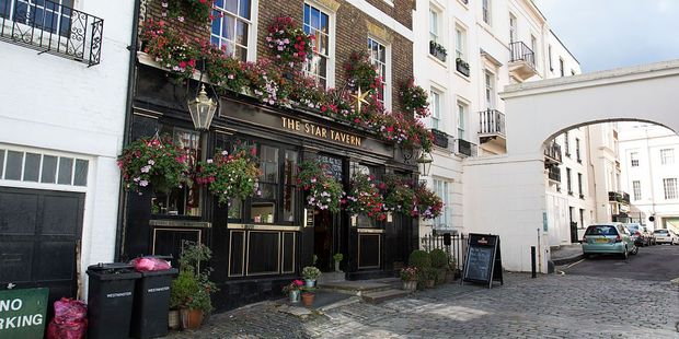 The Star Tavern in Belgravia. Photo / Getty Images