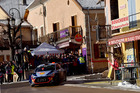 Thierry Neuville during the WRC Monte Carlo. Photo / Getty Images