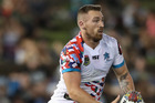 Bryce Cartwright in action for the NRL World All Stars against the NRL Indigenous All Stars last month. Photo / Getty Images.