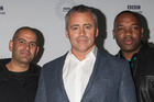 The stars of the all new Top Gear show, Chris Harris, Matt LeBlanc and Rory Reid. Photo / Getty