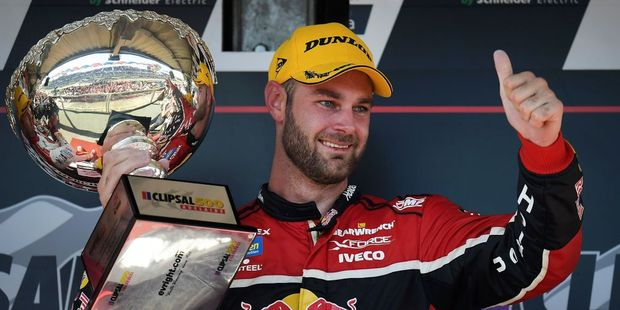 Race winner Shane Van Gisbergen. Photo / Getty