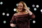 Adele performs her bug-plagued concert in Brisbane. Photo/Getty