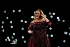 Adele performs at The Gabba on March 4, 2017 in Brisbane, Australia. Photo / Getty