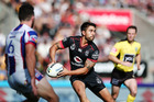 Shaun Johnson in action during the round one NRL match against Newcastle. Photo / Getty Images
