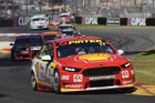 Scott McLaughlin during race 2 for the Clipsal 500. Photo / Getty Images
