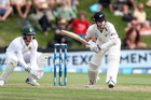 Kane Williamson will have to remain watchful for the rest of the test. Photo / Getty