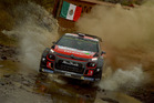 Kris Meeke during the Shakedown of the WRC Mexico. Photo / Getty Images