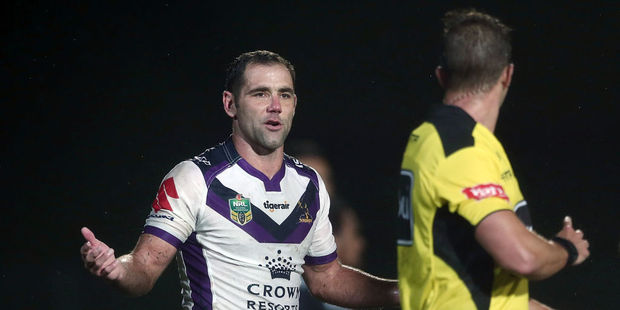 Cameron Smith of the Storm. Photo / Getty