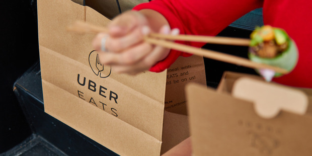 Loading UberEATS is designed to give people access to a broader range of food than what is otherwise available for delivery. Photo / supplied