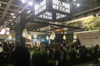New Zealand had its own stand at the ITB travel show in Berlin.  Photo / Grant Bradley
