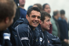 Dan Carter - still smiling all the way to the bank. Photo / Photosport