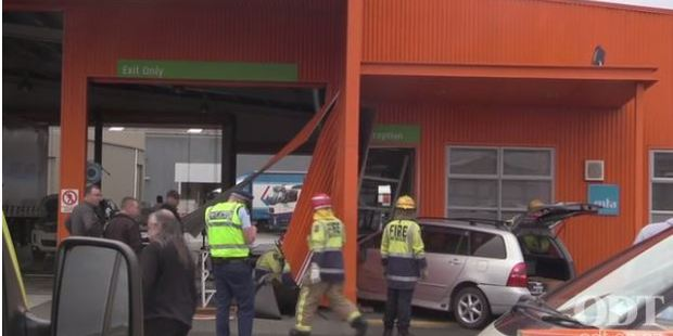 Loading The condition of the woman is unknown, but there were concerns from emergency services for the woman's reported back and neck pain. Photo / Otago Daily Times