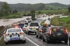 Flash flooding at Bulls Gorge caused delays on SH10 south of Kerikeri today.