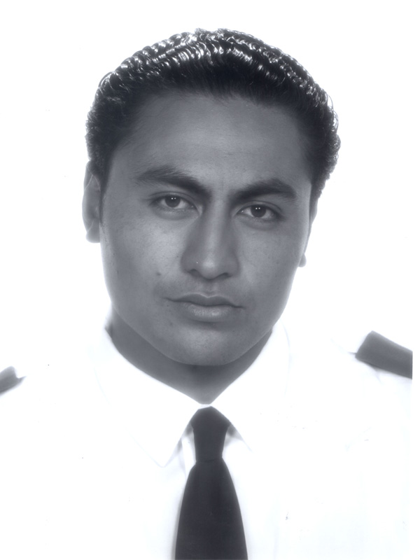 Rene Naufahu when he first appeared on Shortland Street in the 1990s.