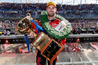 Shane van Gisbergen of Red Bull Holden Racing Team wins the Clipsal 500 in Adelaide. Photo / Edge Photographics
