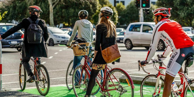 The number of fines issued in Northland for cycling without a  helmet  has halved in three years. Photo/Supplied