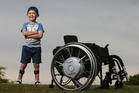 Five years on we catch up with Aiden Lints, 7, after a horrific car crash. PHOTO/JOHN BORREN