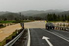 The road at Manaia, Coromandel was flooded after heavy rain. Photo / Supplied
