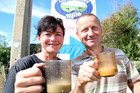 Anita and Edo Mooij have hung on to their business selling unpasteurised milk near Whanganui. Photo/Stuart Munro