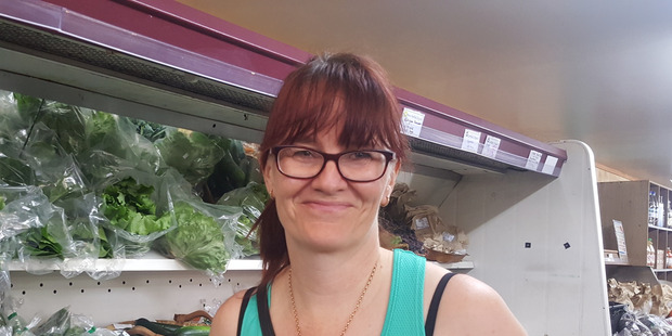 CONFIDENT SHOPPER: Jo Dey of Matua says she's been buying organic foods ever since they became available in Tauranga. Photo/Dawn Picken