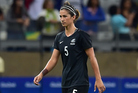 Abby Erceg's shock retirement put the Ferns in the spotlight. Photo / Brad Smith