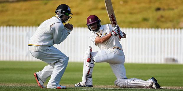 Plunket Shield first class cricket match, 2015. Photo / photosport