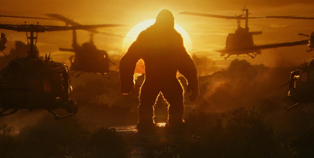 A scene from the film, Kong: Skull Island.