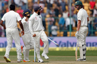 No sanctions were handed out after a heated test between India and Australia. Photo / AP
