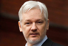 Tech companies could run into legal difficulties in accepting Julian Assange's offer. Photo / AP