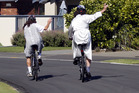 Fines for failing to wear a helmet have halved in the last three years, despite more people cycling in the city. Photo/FILE