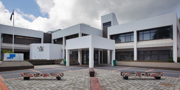Rotorua courthouse.