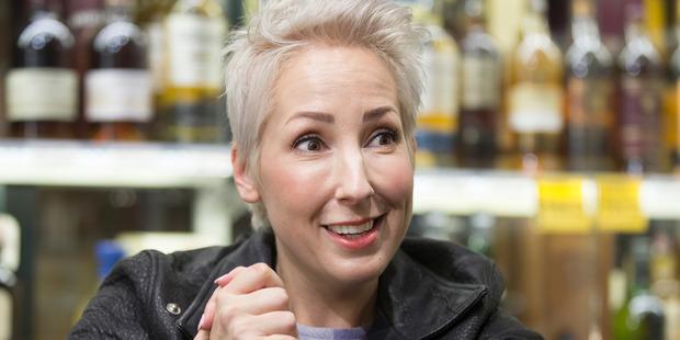 Jaquie Brown, New Zealand TV presenter, actress and radio presenter. Photo / Brett Phibbs