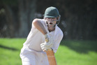 CAPTAIN'S KNOCK: Bay of Plenty skipper Peter Drysdale held firm against Southland at Bay Oval on Saturday. PHOTO: FILE