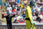 Australian batsman Peter Handscomb. Photo / Alan Gibson