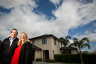 David Curry-Wood and Louise Mccall have moved from Auckland and bought a house in Rotorua. Photo / Stephen Parker