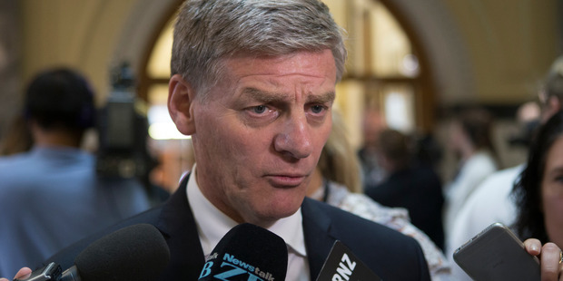 "Loading PM Bill English promised to confirm his plans for superannuation ""quite shortly"" but did not specify a date. Photo / Mark Mitchell"