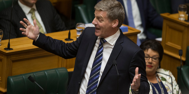 """Loading Prime Minister Bill English says Government is considering a """"reset"""" of superannuation rules. Photograph by Mark Mitchell"""