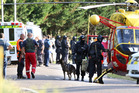 The scene after the Kawerau siege. Photo / Ben Fraser