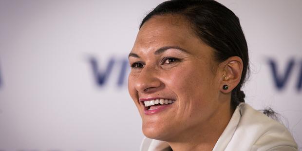 New Zealand Olympic shot putter Dame Valerie Adams. Photo/Jason Oxenham