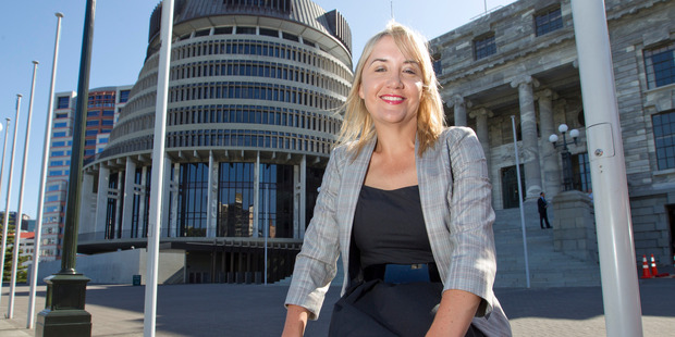 Nikki Kaye, the only millennial Cabinet Minister, didn't hesitate when she was asked whether she was a feminist. Photo / Mark Mitchell