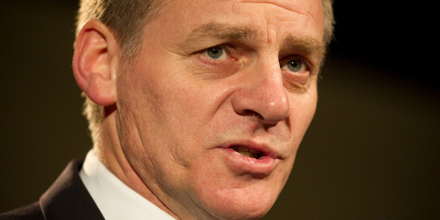 Prime Minister Bill English has previously said the Government would not support the bill.