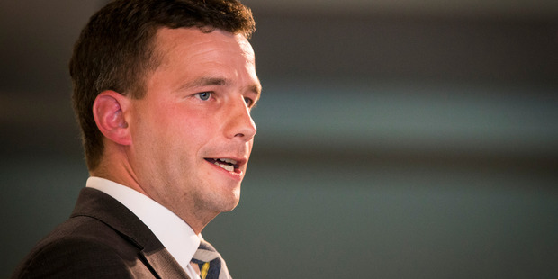 """Loading Act Party leader David Seymour says pension changes will open up a """"generational fault line"""". Photograph by Jason Oxenham"""