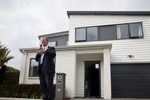 Nick Smith has expressed satisfaction with housing consent data lately. Photo/Jason Oxenham