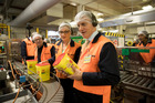 Prime Minister Bill English contemplates the nutritional value of his election year diet. Photo / Dean Purcell