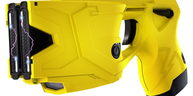 The Taser X2, used by New Zealand police. Photograph supplied