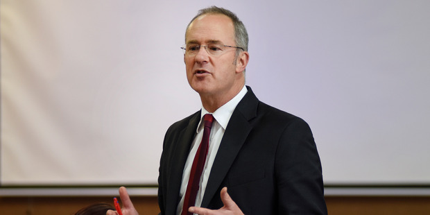 Labour MP Phil Twyford challenged the real estate watchdog about whether it was doing enough to deter flipping. Photo / George Novak