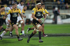 Ardie Savea has started, much like the Hurricanes, at full throttle. Photo / Mark Mitchell